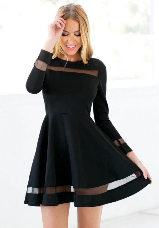 Martini black Skater  Dress 1