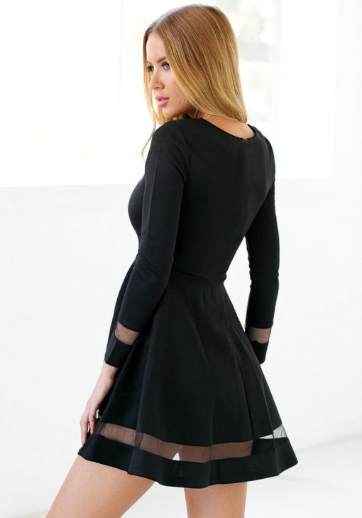 Martini black Skater  Dress 2