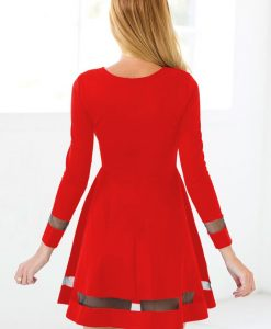 Martini Red Skater Dress 3