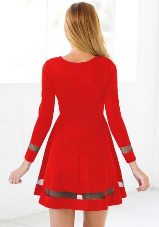 Martini Red Skater Dress 2