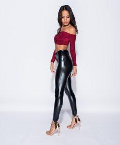 High Waisted Skinny Stirrup Leggings 4