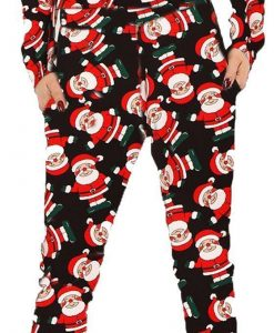 Snowman Ladies XMas Lounge wear Father Christmas Women Santa 2pc 4