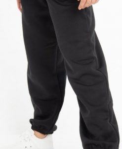 Charcoal grey casual joggers 3