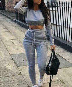 Grey Loungewear Set 5