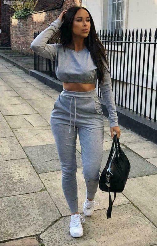 Grey Loungewear Set 3