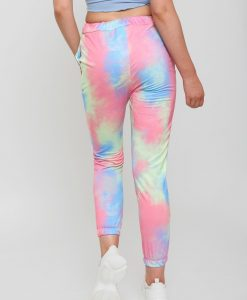 womans tie dye joggers multi colored 6